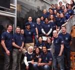 2014년도 해외프롤로봉사활동에 참여한 의료진들과 심재현원장