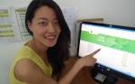 중국어능력시험 HSK iBT를 연습하는 모의고사 프로그램 화면