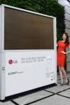 LG전자가 세계 최고 효율의 가스 냉난방기인 30마력 가스히트펌프 슈퍼2 를 출시했다