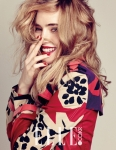 엘르가 버버리 메이크업 캠페인 모델이자 버버리 모델인 수키 워터하우스의 영국 감성이 물씬 담긴 뷰티 화보를 공개했다.(사진 : 엘르 제공)