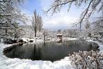 겨울 경주 보문정 전경