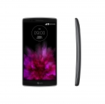 LG전자가 커브드 스마트폰 LG G 플렉스2를 공개했다.