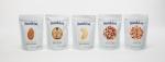 썬키스트 너츠 리뉴얼 제품과 신제품 - 250g팩 (왼쪽부터 아몬드, 호두, 캐슈넛, 클래식, 팝)