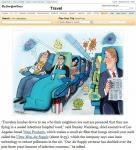 뉴욕타임즈는 비행기 초미세먼지 예방법으로 미니메이트를 소개했다.