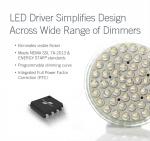 페어차일드가 디머 호환성이 우수한 새로운 LED 드라이버 FL7734를 출시했다.