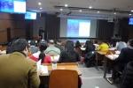 아시아태평양 지역 13개국에서 온 의료진들이 한국의 인터벤션 교육을 청강하고 있다