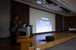 민트영상의학과 김재욱 원장이 IICIR 2015에서 외국인 의료진을 대상으로 정계정맥류에 대한 강연을 하고 있다.