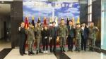 군산대학교 나의균 총장이 10일 동계입영훈련 중인 군산대 ROTC후보생들을 격려하기 위해 충북 괴산의 육군학생군사학교를 방문했다.