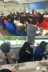화동중학교, 미혼모 돕기 위해 함께하는 사랑밭 '배냇저고리 캠페인' 동참