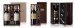레뱅드매일이 설 대표 음식과 환상의 짝궁을 이루는 와인 선물세트를 출시하였다. 왼쪽부터 얄리 그랑 레세르바 세트 요리오 1본입 세트 랑메일 올드바인 35 세트