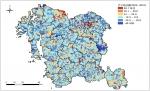 충청남도 행정통리별 인구증감률(2005-2010) 충남발전연구원 발간 충남리포트 153호