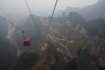 중국 천문산 케이블카