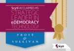 프로스트 앤 설리번은 정부기관의 온라인 투표 및 선거 현대화 서비스 시장을 분석한 결과를 바탕으로 '2014년도 경쟁력 갖춘 전략 혁신 및 리더십 부문 글로벌 상'을 사이틀에 수여했다.
