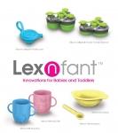 린코글로벌이 친환경 소재 실리콘 재질 유아 식기브랜드 렉스앤펀트를 공식 출시했다