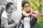 자폐성 발달장애 1급이란 중증의 장애를 가지고 백석대학교 회화과에 입학한 이다래 학생(왼쪽), 시각장애를 갖고 있는 한국예술종합학교 음악원 새내기 김지선 학생(오른쪽)