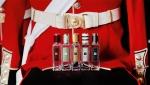영국 문화를 대표하는 아이콘 향수 락 더 에이지 리미티드 코롱 컬렉션. 왼쪽부터 튜더 로즈 앤 앰버,  릴리 오브 더 밸리 앤 아이비, 포머그래니트 누와, 제라늄 앤 버베나, 버치 앤 블랙 페퍼