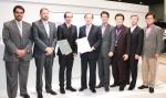 LG유플러스는 2일 스페인 바르셀로나에서 열리고 있는 MWC 2015에서 카타르 1위 이동통신사인 오레두와 홈IoT 사업협력을 위한 양해각서를 체결했다