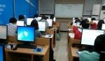 인터넷으로 치르는 중국어 능력급수시험인 HSK iBT 시험장 풍경