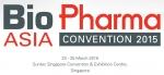 생물의약품 아시아 컨벤션이 2015년 3월 23일부터 25일까지 싱가포르에서 개최된다.