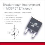 페어차일드는 업계 최저의 온 저항(Rdson) 및 최저 출력 정전용량(Coss)을 다양한 패키지로 제공하는 800V SuperFET® II MOSFET 제품군을 소개했다