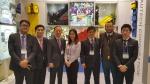 KIMES 2015 오텍 전시부스와 ㈜오텍 강성희 회장(왼쪽에서 세번째)