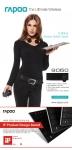로이체가 국내 최고 온라인 쇼핑몰인 G마켓에서 13일 하루동안 RAPOO 의 블레이드 시리즈중 무선 키보드 마우스 세트 제품인 RAPOO-9060 을 약 27% 할인된 가격에 특가 행사를 실시한다