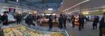 수퍼마켓 박람회장의 파나소닉 부스