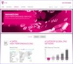 컨텐츠 전송 서비스를 위한 ICSS의 새로운 웹사이트