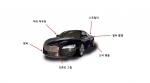 자동차 외장부품에 사용된 랑세스의 PBT 및 폴리아미드 컴파운드