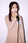 뮤지컬 덕혜옹주 제작발표회 현장에서 '투네임'이라는 곡을 선보이고 있는 초아(크레용팝) 배우