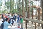 '삼정더파크'에서는 지난해 4월 개장과 함께 사회공헌 초청행사 등 다양한 행사가 진행되었다.