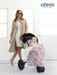 글로벌 유아용품 전문기업 YKBnC에서 유모차 스타일링 브랜드 끌로렌을 새롭게 론칭했다.