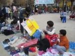 지난 10일 삼전종합사회복지관이 삼전동 근린공원에서 부엉이장터를 진행하였다.