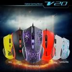 로이체가 주변기기 글로벌 브랜드  RAPOO의 프리미엄 게이밍 마우스 V20을 출시하였다