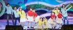 4월 18일 서울 KBS홀에서 열린 '제30회 초록동요제'에서 대상을 수상한 '무지갯빛 하모니'를 들려준 '채윤, 환미, 채원, 유경이네 가족(이유경 외 12명)'