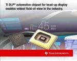 TI는 자사 최초로 오토모티브 헤드업 디스플레이 애플리케이션을 위한 DLP® 칩셋을 출시한다