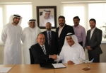론 페리(Ron Peri)와 가이스 알 가이스(Ghaith Al Ghaith), 플라이 두바이 및 라딕스 경영진, 두바이