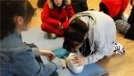 2015년 학교단체 심폐소생술 교육 모습
