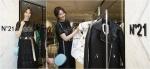 여배우 수현이 N˚21 서울 신세계본점과 현대본점 단독 매장 그랜드 오픈 행사에 참석했다