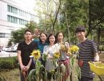 건국대 게릴라가드닝팀이 서울시-현대차 환경개선 프로젝트 화(花)려한 손길 캠페인에 참여한다.
