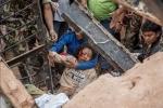 소통을위한젊은재단이 네팔 지진 피해지역에 긴급구호를 실시한다