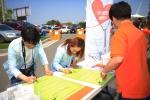 지난 26일 여주도자기축제와 함께하는 여주시민 생명사랑 캠페인이 350여명의 일반시민이 참여한 가운데 성황리에 진행되었다