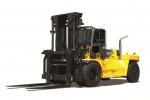 현대중공업이 최근 출시한 30톤급 초대형 지게차 포렉스 300D-9