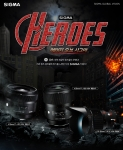 세기P&C가 시그마 글로벌 비전 Art 3종 제품을 대상으로 SIGMA LENS HEROES EVENT 이벤트를 4월 30일부터 5월 21일까지 진행한다