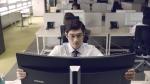 삼성커브드 모니터 타임마케팅 영상키컷
