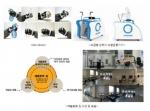 상단 좌 - Exo Glove(재활로봇중개연구 사례 1) 상단 우 - 보급형 상하지 보행운동기기(재활로봇중개연구 사례2) 하단 - 재활로봇짐 구성과 재활로봇짐