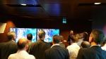 삼성전자가 5월 6일부터(현지시각) 2일간 룩셈부르크에서 열린 'SES Industry Day'에 참가, UHD 급 해상도에 영국 BBC 방송사의 HDR 기술을 적용한 콘텐츠를 위성으로 수신해 SUHD TV로 데모 영상을 세계 최초로 시연했다. 사진은 삼성전자 영국 연구소 사업기획팀의 Jan Outters가 HDR이 적용된 BBC Natural History 콘텐츠를 위성을 통해 당사 SUHD TV로 시연하는 것을 설명하는 장면.
