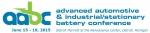 자동차용&산업용/고정형 첨단 배터리 컨퍼런스가 2015년 6월 15일부터 19일까지 미국 미시간주 디트로이트에서 개최된다