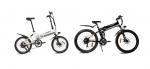 2015년형 접이식 전기자전거 테일지 T7과 테일지 T9 - 왼쪽 테일지 T7 화이트, 테일지 T9 블랙 (사진제공: 아이엠씨인터네셔널)