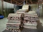 가마에 들어가기 위해 쌓아 놓은 대나무로, 한국인이 라오스 군부로부터 29,000헥타르(8,800만평)에 달하는 대나무 서식지를 확보하고 대량으로 대나무 숯 만들기에 들어갔다. 대나무 숯 부산물인 죽초액과 죽력으로 비누와 세재, 여성청결제 등을 생산해 한국에 공급할 계획이다.
